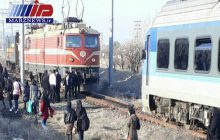 قطار برقی تبریز - دانشگاه شهید مدنی آذربایجان از ریل خارج شد