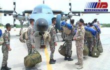۸۰عضو تیپ یکم تفنگداران دریایی ارتش عازم مناطق سیل زده شدند