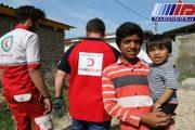 کمک هلال احمر ترکیه در آق قلای گلستان توزیع شد