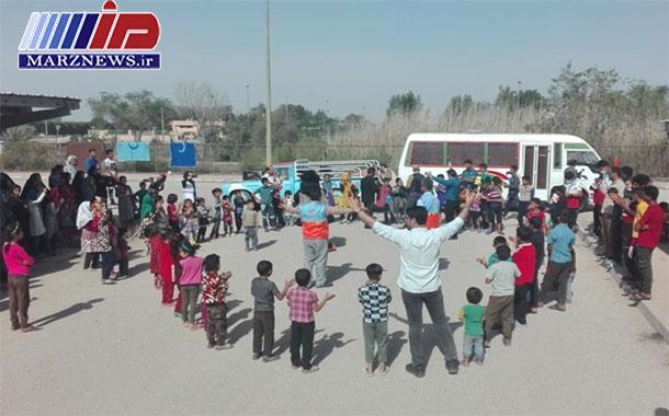 اعزام نمایشدرمانگران به خوزستان برای کاهش آلام سیلزدگان