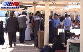 سرگردانی زائران در مرز بین المللی مهران