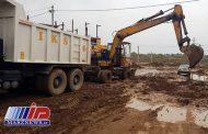 ۳۲ دستگاه ماشین آلات شهرداری تهران در خوزستان مستقر شد
