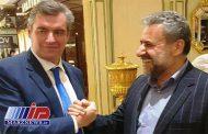ایران و روسیه بر گسترش همکاری های پارلمانی تاکید کردند