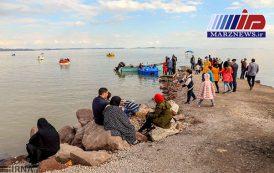 دریاچه ارومیه از کما بیرون آمد