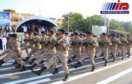 نمایش قدرت نیروهای مسلح در کنار آبهای خلیج فارس