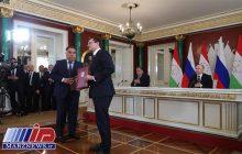 روسیه و تاجیکستان ۱۷ سند همکاری امضا کردند