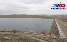 سد تاجیار در اذربایجان شرقی سرریز شد