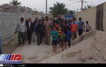 عملیات تخلیه روستای صراخیه شادگان آغاز شد