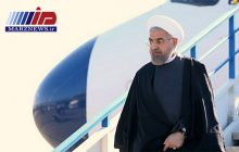 رئیس جمهوری وارد خوزستان شد