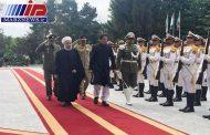 رییس جمهوری از نخست وزیر پاکستان استقبال رسمی کرد