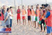 تیم هندبال ساحلی عمان به اصفهان سفر کرد