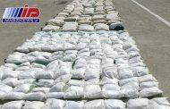 ۲٫۵ تن انواع مواد مخدر در ایرانشهر کشف شد