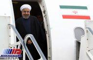رئیس جمهوری وارد کرمانشاه شد