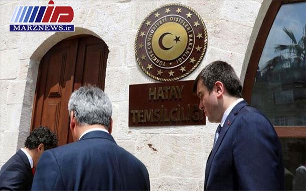 آغاز به کار دفتر نمایندگی ترکیه در مرز با سوریه