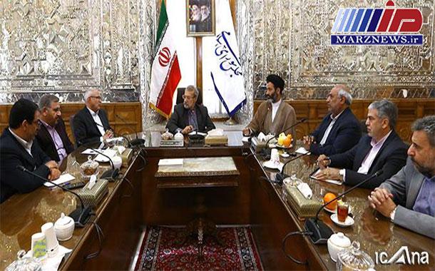 تاکید بر اهمیت بازگشایی مرز خسروی و اتصال راه آهن کرمانشاه به عراق و سوریه