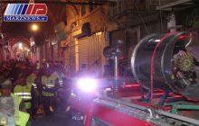 آتش سوزی بازار تبریز به طور کامل مهار شد
