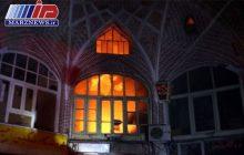 مدیریت بحران آذربایجان شرقی برای آتش سوزی بازار تبریز تشکیل جلسه داد