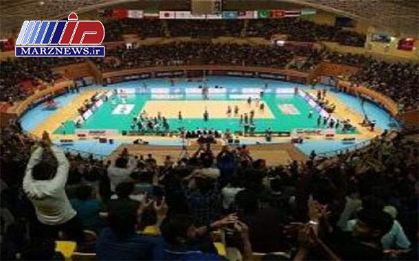 سالن رضازاده اردبیل برای میزبانی لیگ والیبال ملتهای جهان آماده است