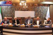 نشست سرمایه گذار روسی با اعضای اتاق بازرگانی اردبیل