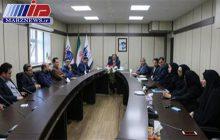 نشست كمیته تخصصی شورای راهبری كیفیت شركت خدمات هوایی و منطقه ویژه اقتصادی پیام
