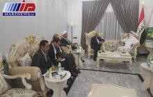دیدار سفیر ایران با رییس دیوان وقف اهل سنت عراق