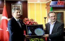 حجم مبادلات ایران و ترکیه باید گسترش یابد