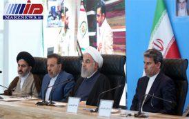 افتتاح و آغاز عملیات اجرایی ۲۲ پروژه اقتصادی و زیربنایی در استان آذربایجان غربی