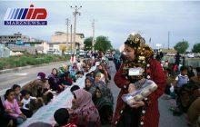 طولانی ترین سفره افطاری ایران در آققلا
