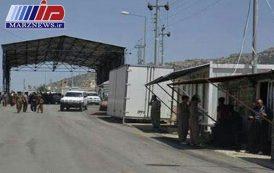 تردد مسافر از مرز سیرانبند در انتظار موافقت دولت مرکزی عراق است