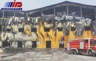 ۹۰ درصد کارخانه لبنی ما در عراق سوخته است