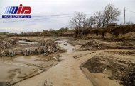 سیلاب به ۸۰۰ هکتار اراضی باغی و زراعی سبزوار خسارت زد