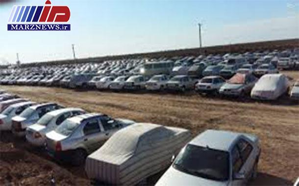 ساماندهی پارکینگ خودروها برای ایام اربعین در مرز مهران