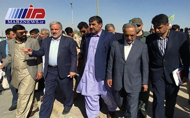 مرز میرجاوه جایگاه مهمی در توسعه صادرات ایران دارد