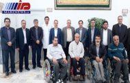 ملاقات ریاست دانشگاه علوم پزشکی اردبیل به همراه معاونین درمان و غذا دارو از جانبازان بیمارستان ایثار