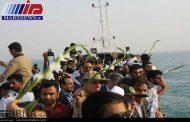 شهادتگاه ۲۹۰ مسافر ایرباس در خلیج فارس گلباران شد