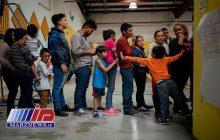 نگهداری کودکان مهاجر در قفس