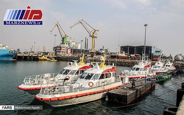 الحاق شناورهای جدید به یگان دریایی مرزبانی ناجا