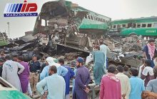 شمار قربانیان حادثه قطار در پاکستان به ۲۱ نفر رسید