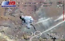 پخش نخستین فیلم از لحظه گلوله باران پایگاههای تروریستها در منطقه اقلیم کردستان عراق