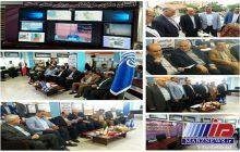 افتتاح سکوی هواشناسی دریایی گلستان در مرز آبی ایران و ترکمنستان