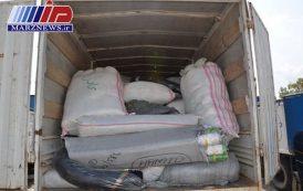 انبار مواد خوراکی و بهداشتی قاچاق در ایلام کشف شد