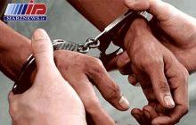 مجرم فراری در ایوان دستگیر شد