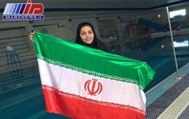 بانوی خوزستانی رکورد شنای با دست بسته را به نام خود ثبت کرد