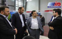 بازدید رئیس شورای عالی فضای مجازی از غرفه منطقه ویژه اقتصادی پیام در نمایشگاه الكامپ
