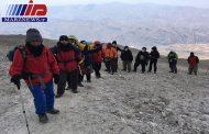 کوهنوردان سیرجانی به قله سبلان اردبیل صعود کردند