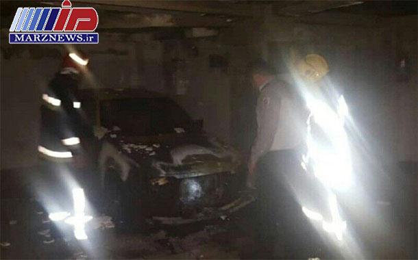 انفجار خودرو در تبریز هفت نفر را مصدوم کرد
