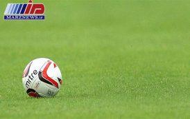 تیم ملی فوتبال نونهالان دراردبیل توپ می زنند