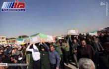 ورود پیکر ۲۶ شهید از مرز سومار