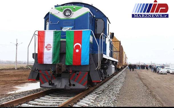 ۲۶ هزار و ۱۳۱ تن کالا از راه آهن آستارا صادر شد
