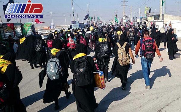 پنج استان و هشت شهرستان معین خرمشهر در اربعین امسال شدند